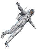Astronaute de beauté illustration libre de droits