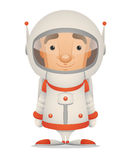 Astronaute de dessin animé Image stock
