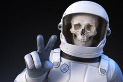 Astronaute gai illustration de vecteur