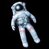 Astronaute, image avec un chemin de travail illustration libre de droits