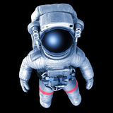 Astronaute, image avec un chemin de travail illustration stock