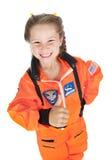 Astronaute : Pouces pour la mission images stock