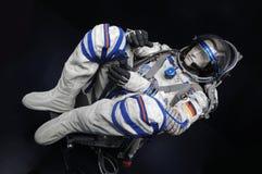 Astronautenbildschirmanzeige Lizenzfreie Stockbilder