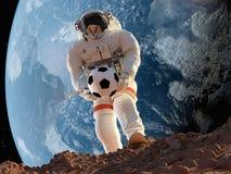 Astronautet royaltyfri illustrationer