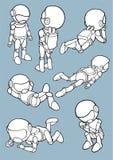 Astronauts Royalty Free Stock Image