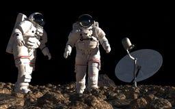 The astronauts Royalty Free Stock Photo