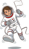 Astronauts character Stock Image