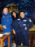 Astronauts in the Space Museum Royalty Free Stock Photography