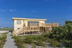 Astronauty bungalow na Cape Canaveral zdjęcie royalty free