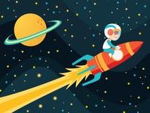 Astronautyczna chłopiec Obrazy Stock