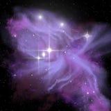 Astronautyczna galaktyki adoracja ilustracji