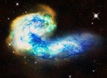Astronautyczna mgławica Zdjęcie Royalty Free