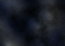 Astronautyczna mgławica zdjęcie stock