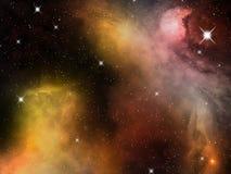 Astronautyczna mgławica Fotografia Royalty Free