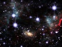 Astronautyczna mgławica Obrazy Royalty Free