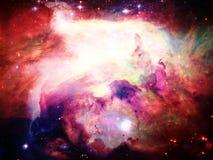 Astronautyczna mgławica Fotografia Stock