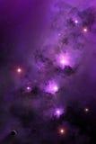 Astronautyczna mgławica Zdjęcia Stock
