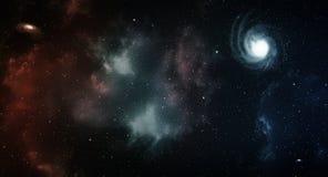 Astronautyczna panorama Obraz Royalty Free