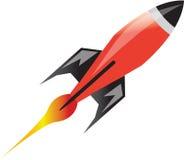 Astronautyczna rakieta Fotografia Stock