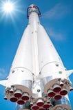 Astronautyczna transport rakieta Zdjęcie Stock