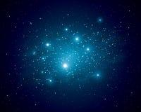 astronautyczne gwiazdy ilustracji