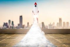 Astronautycznego wahadłowa wodowanie zdjęcia royalty free
