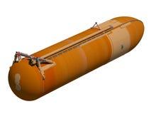 Astronautycznego wahadłowa zbiornik zewnętrzny Zdjęcie Stock