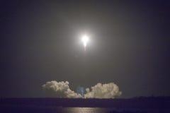 Astronautycznej rakiety wszczynać Obraz Stock