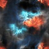 Astronautyczni elementy bezszwowi Zdjęcie Royalty Free