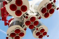 Astronautyczni Rakietowi Nozzles Zdjęcie Stock