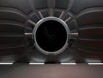 Astronautyczny środowisko, przygotowywający dla comp twój charaktery 3D renderin Obrazy Royalty Free