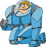 Astronautyczny facet Zdjęcie Stock