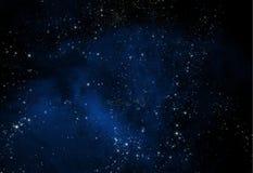 Astronautyczny galaxy Fotografia Royalty Free