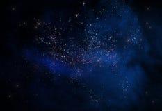 Astronautyczny galaxy Fotografia Stock