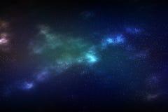 Astronautyczny galaxy tło Fotografia Royalty Free