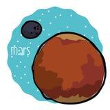 Astronautyczny ikona projekt Obrazy Royalty Free
