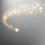 Astronautyczny kometa ogon 10 eps Obrazy Royalty Free
