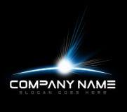 Astronautyczny Mroczny logo Zdjęcia Royalty Free