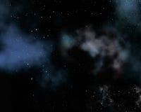 Astronautyczny nieba backgound Zdjęcie Stock