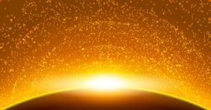 Astronautyczny nieba tło Obrazy Stock