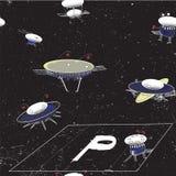 Astronautyczny parking Obrazy Stock