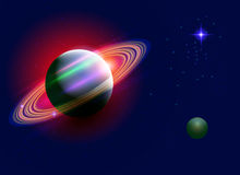 Astronautyczny Saturn Zdjęcia Stock
