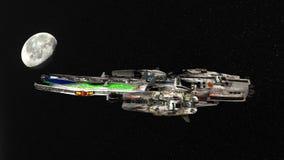 Astronautyczny statek obrazy stock