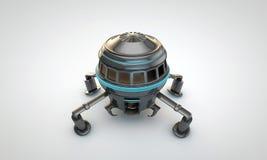 Astronautyczny statek Zdjęcie Stock