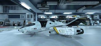 Astronautyczny statek Fotografia Stock