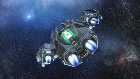 Astronautyczny statek obraz stock
