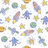 Astronautyczny tło Obraz Stock