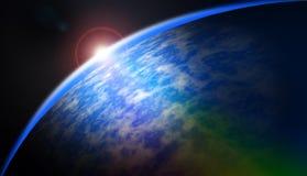Astronautyczny tło Obraz Royalty Free