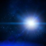 Astronautyczny tło wektor Obrazy Stock