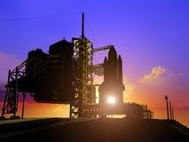 astronautyczny transport Obrazy Royalty Free